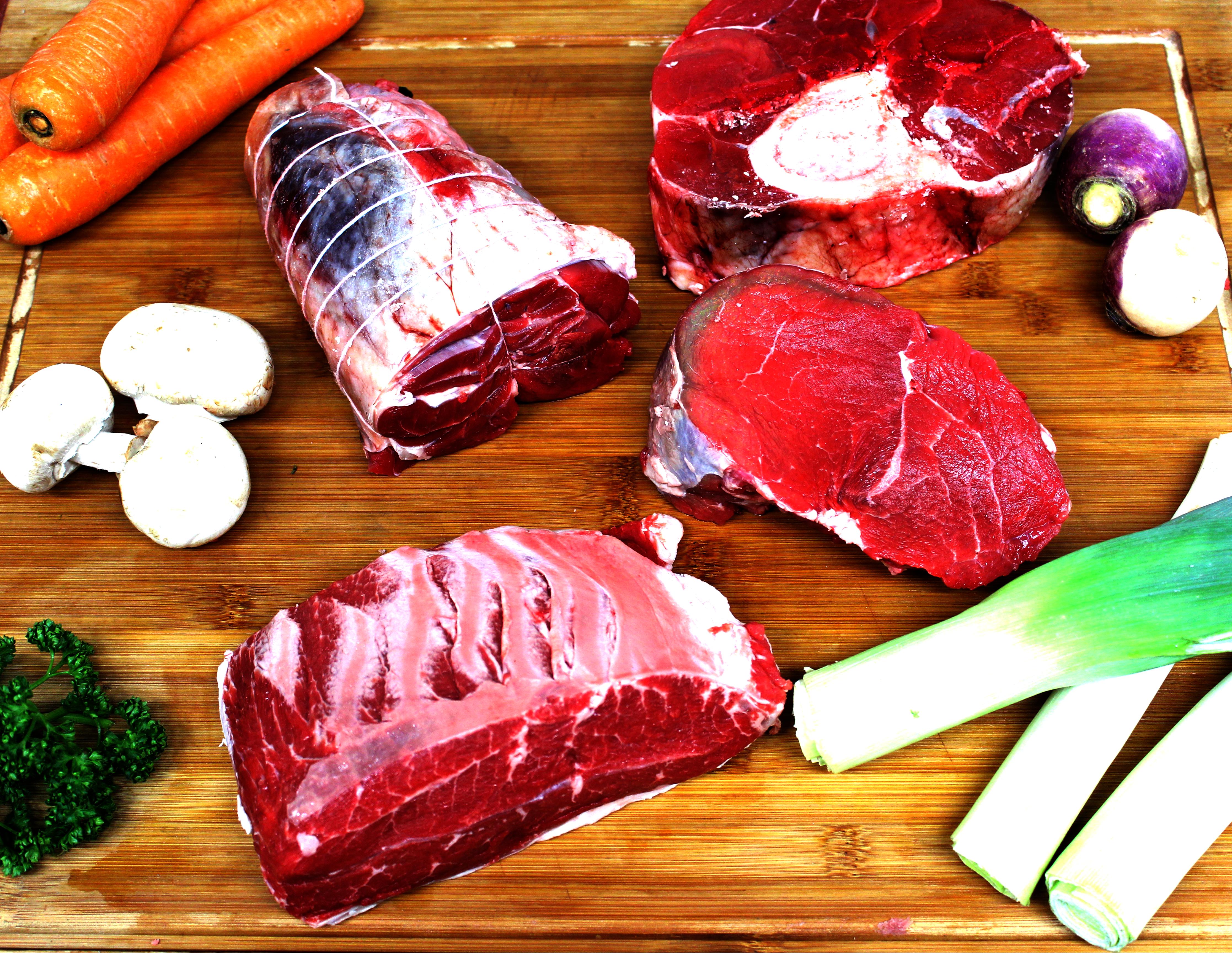 Viande a pot au feu de nos élevage en pleine nature Avranches